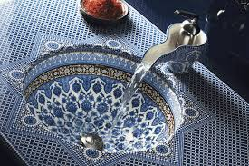 moorish architecture beautiful basin inspired by moorish architecture d signers