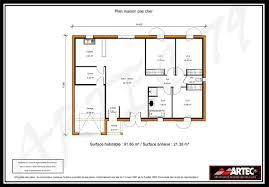 plan maison gratuit plain pied 3 chambres plan maison gratuit plain pied 3 chambres trendy maison m plain