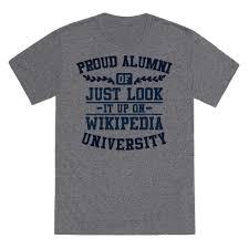 alumni tshirt proud alumni of just look it up on tshirt
