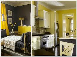 Yellow And Grey Room Yellow And Gray Bedroom Tjihome