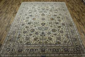 Signed Persian Rugs Signed Kashan Persian Rug