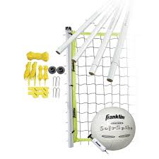 amazon com franklin sports advanced volleyball set general