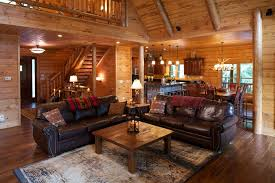 Log Home Decor Ideas Lovely Satterwhite Log Homes Decorating Ideas For Living Room