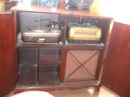 victrola record player cabinet sold rca victor victrola phonograph and radio model a 108 flickr