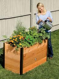elevated garden beds for your standing gardening needs