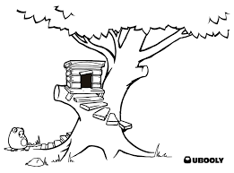 tree house coloring pages jack and annie magic sketch template