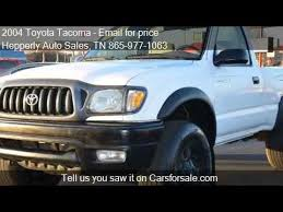 single cab toyota tacoma for sale 2004 toyota tacoma base 2dr regular cab 4wd sb for sale in m