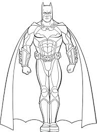 Superhero Coloring Pages For Kids Coloring Pages Printable Batman Batman Coloring Pages For
