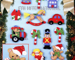 winnie the pooh felt ornament kits by bucilla from