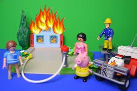 fireman sam episode rescue peppa pig shed fire quad bike