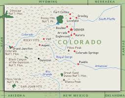 colorado map and information thinglink