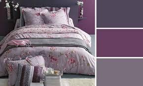 couleur de chambre violet peinture chambre femme
