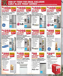 black friday dealls home depot home depot pre black friday appliance sale sunday wednesday 11