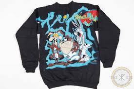 space jam sweater vintage 1996 looney tunes space jam sweatshirt