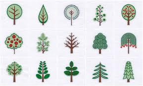 calicodaisy retro trees new embroidery files