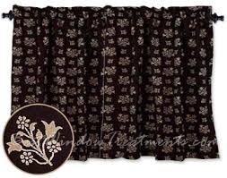 Tier Curtains Kitchen by Kensington Floral Jacquard Tier Curtains Bestwindowtreatments