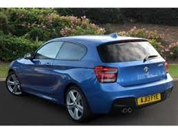 bmw electric 1 series used 2013 bmw 1 series 125d m sport 3dr auto diesel hatchback