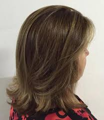 medium length flipped up hairstyles the best hairstyles for women over 50 80 flattering cuts 2018