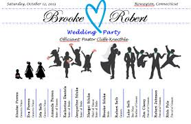 how to make your own wedding programs 15 personal touches for your wedding wrecking routine
