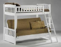 Wood Futon Bunk Bed White Futon Bunk Bed Roof Fence Futons Great