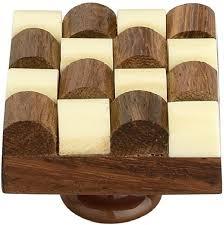 wood kitchen cabinet knobs mascot 1 pack 1 1 3 inch wooden kitchen cabinet