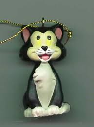 disney pinocchio figaro cat ornament ebay disney