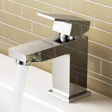 ibathuk cloakroom basin sink mixer tap chrome modern bathroom