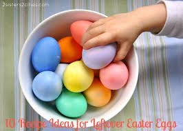 recipe ideas for leftover easter eggs archives 2 sisters 2 cities