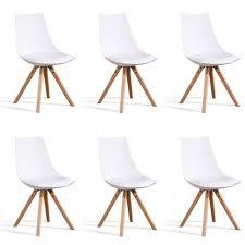 chaise pas cher lot de 6 lot de 6 chaises pas cher ou d occasion sur priceminister rakuten