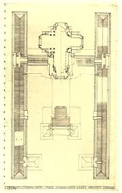 Frank Lloyd Wright Floor Plan Interlude U2013 Frank Lloyd Wright U0027s Imperial Hotel Paradise Leased