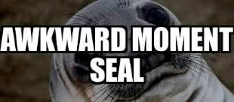 Awkward Seal Meme - i was told awkward seal was so hot right now meme explorer
