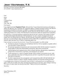 cover letter nursing sle cover letter for nurses