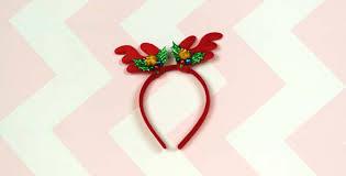 reindeer antlers headband antler headband with bells heyduckee