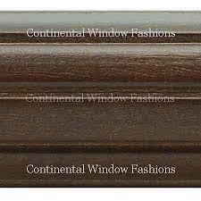 Kirsch Wood Curtain Rods Kirsch 2 Inch Wood Trends Collection U2013 Continental Window Fashions