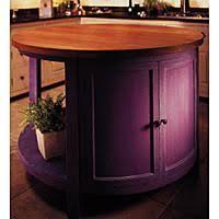 custom round kitchen island from chalon