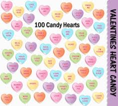 valentines hearts candy valentines heart candy clip 100 colorful graphics s