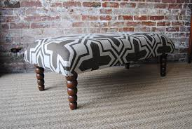 furniture leather coffee table ottoman leather footstool