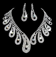 rhinestone necklace sets images Rhinestone jewelry sets and bridal jewelry jpg