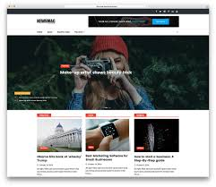 best free 30 best free responsive magazine themes 2017 colorlib
