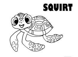 finding nemo coloring pages getcoloringpages com