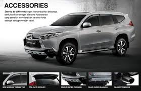 pajero sport mitsubishi new mitsubishi pajero sport suv launched in indonesia u2013 new 2 4l