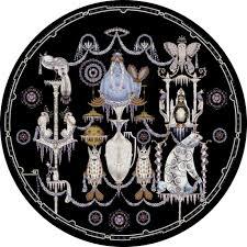 5 By 5 Rug Polar Byzantine Chapter 5 By Klaus Haapaniemi Moooi Carpets