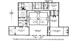 courtyard house plans modern house plans plan with courtyard 2 master suites tiny loft
