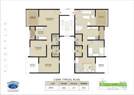 2bhk floor plan floor plan saarrthi sinclair warje pune saarrthi group 1 5