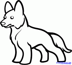 german shepherd coloring page german shepherd dog coloring page
