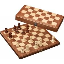 philos medium wood chess set 33mm field 2625