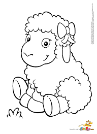 coloring wonderful sheep coloring pages free printable