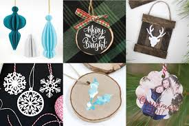 diy ornaments with the cricut hey let s make stuff