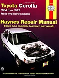 toyota corolla workshop manual free toyota corolla 1988 97 chilton total car care series manuals