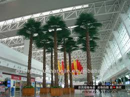 make artificial big trees outdoor indoor artificial palm tree